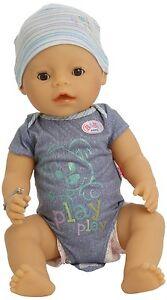 Zapf Creation 116713 - Baby Born Interactive Boy