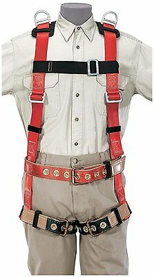 Klein 87093 Premium Fall-arrestretrieval Harness For Tower Work 2x-large