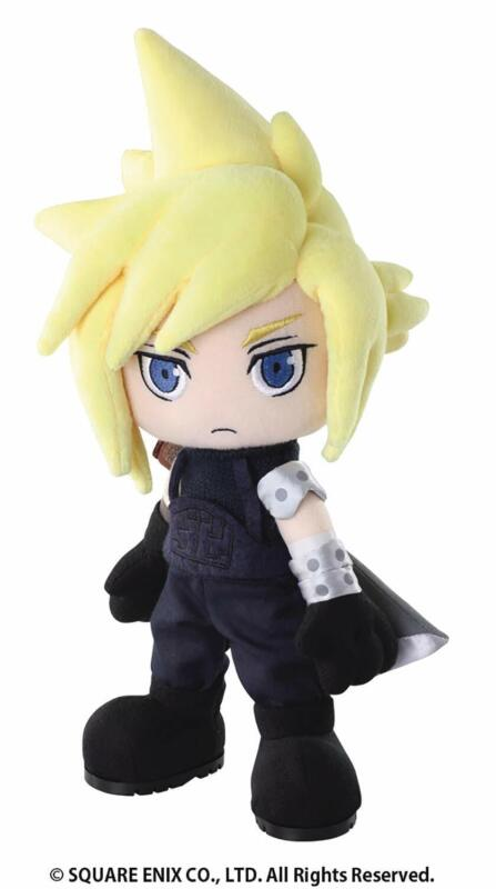 *NEW* Final Fantasy VII: Cloud Strife Action Doll Plush