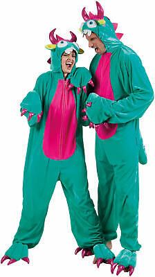 Monster Bestie Ungeheuer Plüsch Overall Karneval Fasching Kostüm 46/48 58/60