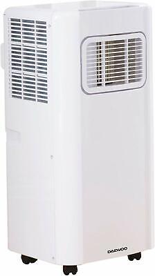 Daewoo Portable 3-in-1 5000 BTU Air Conditioner with Remote -White --RRP £399.99