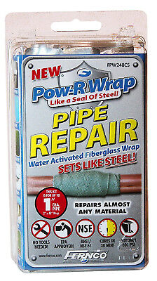 Roof Drain Kit (POW-R PATCH EPOXY REPAIR KIT HOME POOLS PIPES DRAIN ROOF GUTTER BOAT KAYAK TANK)
