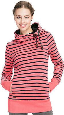 Neu Ragwear Yoda Stripes Damen Kapuzenpullover Hoodie Sweatshirt - Yoda Hoodie