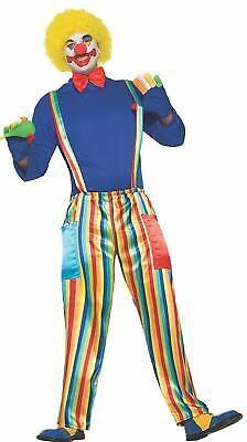 Halloween Costumes Shirt And Tie (CARNIVAL PARTY CLOWN COMPLETE COSTUME SHIRT BOW TIE PANTS WIG MAKEUP HALLOWEEN)