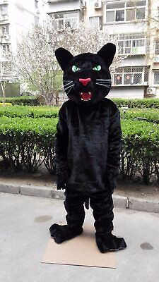 Panther Mascot Costume - Panther Mascot Costume Suit Party Animal Cosplay Game Dress Outfit Adults Parade