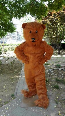 Grizzly Bear Mascot Costume Suit Cosplay Party Game Fancy Dress Outfit Adults US](Grizzly Bear Mascot)