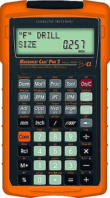 Calculated Industries Machinist Calc Pro 2 Model 4088 with Armadillo Case
