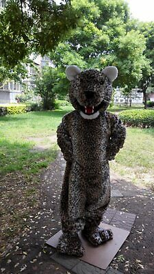 Panther Mascot Costume - Jaguar Mascot Costume Suit Cosplay Party Game Dress Unisex Advertising Halloween