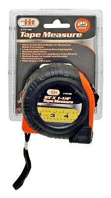 25 ft. Tape Measure Heavy Duty Steel Blade and Spring Measuring Tools