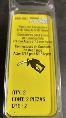 DORMAN FUEL LINE QUICK CONNEC THAT ADAPTS 5/16 IN. STEEL TO 5/16 IN. NYLN TUBNG.