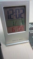 Sharper Image Three-Color LCD travel Alarm clock SF002 # 9689 u