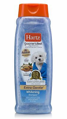 Hartz Groomer's Best Whitening Dog Shampoo, 18 Ounce Bottle ()