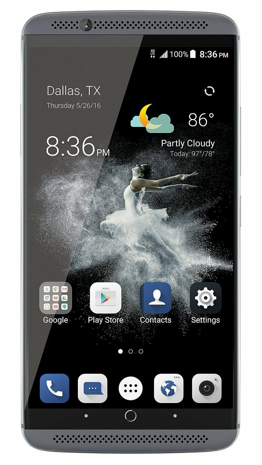 make zte axon 7 64gb 4g lte quartz gray unit has