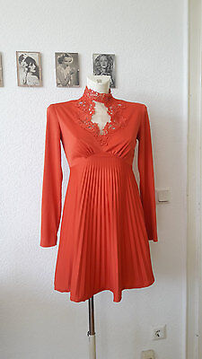 60s Vintage Babydoll Dress Mod Hippie Boho Psychedelic 60er Jahre