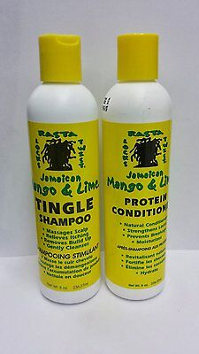 Jamaican Mango & Lime Tingle Shampoo & Protein Conditioner (8 Oz. Each )