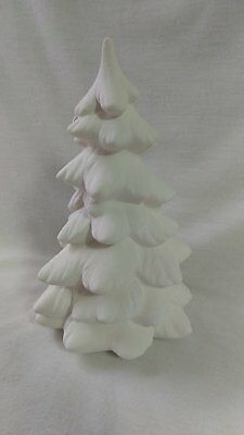 "Village Tree Med  6"" x 4"" Ceramic Bisque, Ready To Paint      FREE SHIPPING"
