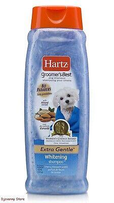 Hartz Groomer's Best Whitening Dog Shampoo, 18 Ounce