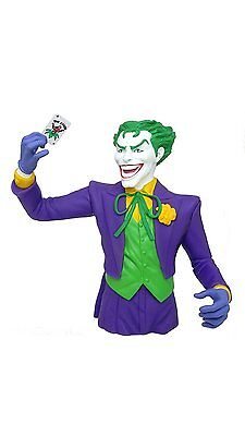 Licensed DC Joker Bust Bank Bust Bank Money/Coin Bank