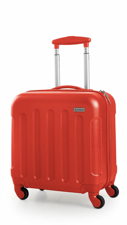 Suitline Handgepäck Trolley Pilotenkoffer Hartschale Boardcase