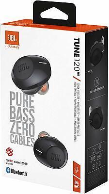 JBL JBLT120TWSBLKAM Tune T120TWS True Wireless, in-Ear Headphone -Black, used for sale  Shipping to India