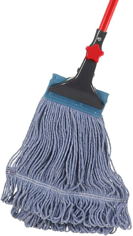 Looped-End String Wet Mop Heavy Duty Cotton Mop Commercial Industrial Grade