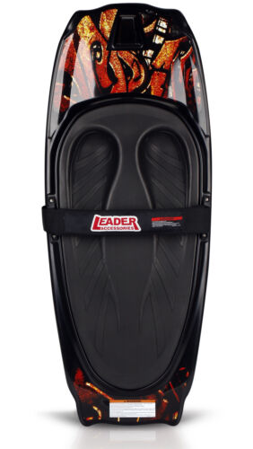 Leader Accessories Kneeboard, Red/Black