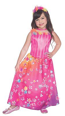 Barbie Dress Up Halloween (Alexa Barbie Pearl Princess Pink Fancy Dress Up Halloween Child Costume)