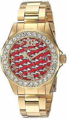 Invicta 24821 Character Collection Women's 38mm Gold-Tone St