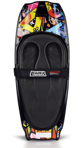 Leader Accessories Kneeboard,Yellow/Black