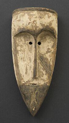 Mask Pasport African Fang Gabon Wood 17cm Miniature Art Primitive 16670