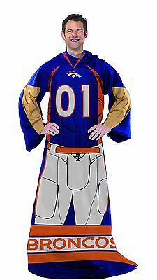 Denver Broncos Uniform Comfy Throw Standard