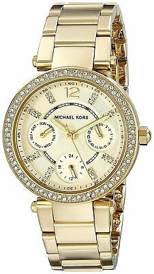 Michael Kors MK6056 Mini Parker Golden Wrist Watch for Women