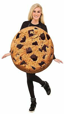 Cookie Tunika Erwachsene Damen Herren Lustige Halloween Kostüm Einheitsgröße ()