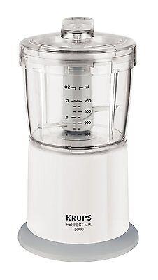Krups GVA151 Zerkleinerer Speedy 400 W Mixer weiß / grau
