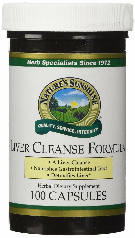 liver cleanse formula 100 capsules