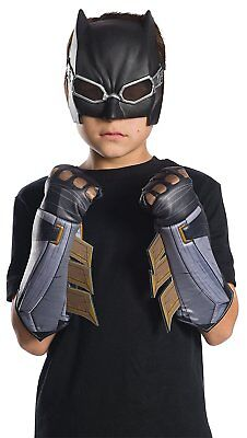 Batman Gloves Justice League Fancy Dress Up Halloween Child Costume Accessory
