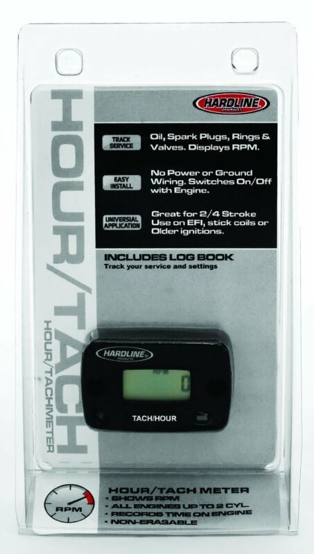 Hardline Tach/Hour Meter for Paramotoring & Powered Paragliding
