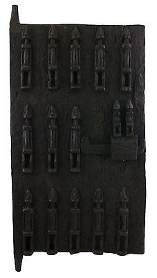Door Dogon Attic Mali 64x38 cm Flap Art African West Africa 16525 Hg 1