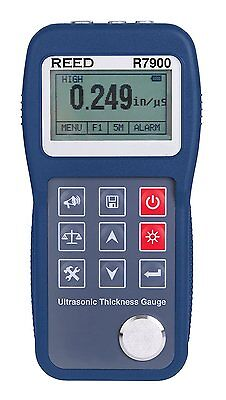 Reed Instruments R7900 Ultrasonic Thickness Gauge 0.65 To 400.0mm