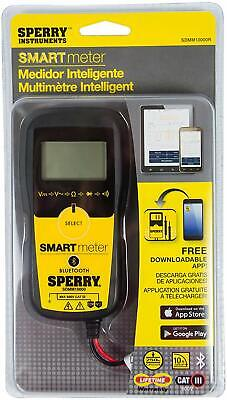 Sperry Instruments Multi-use Smart Digital Multi-meter Bluetooth Capable