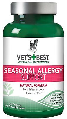 Vet's Best Seasonal Pet Allergy Relief Support Supplement For Dogs Medicine
