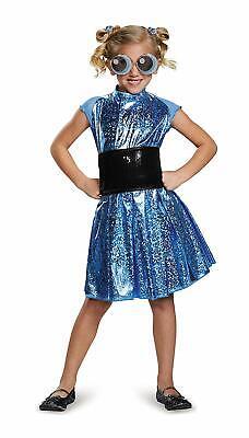 Bubbles Deluxe Powerpuff Girls Cartoon Network Costume, X-Large/14-16](Bubbles Powerpuff Girl Costume)