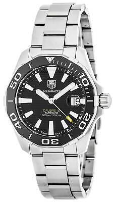 Tag Heuer Aquaracer Calibre 5 Black Dial Automatic Men's Watch WAY211A.BA0928