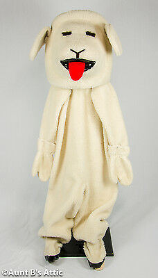 Lamb Adult Animal Mascot Costume Easter Birthday Parties Parades Farm Tours L/XL - Lamb Costume Adult