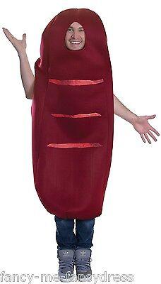 Pour Hommes Femmes Saucisse Nourriture Drôle Nuit Festival Costume (Kostüm Pour Homme)