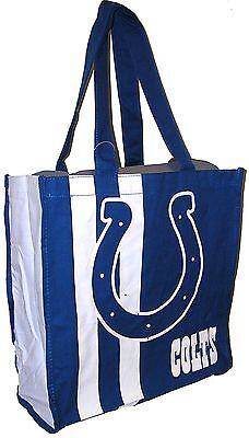 Nfl Indianapolis Colts Handbag Shopper Shopping Bag