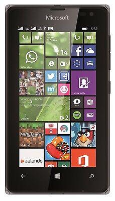 New Nokia Lumia 532 Black Dual Sim 4GB Windows 3G Unlocked Whatsapp Smartphone