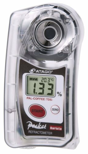 New! ATAGO Pocket Coffee Cafe Densitometer PAL-COFFEE TDS from Japan Import!