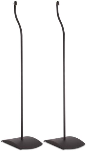 "Set of (2) Bose UFS-20 Series II Universal 38"" Metal Floor Stands (Black)"