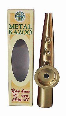 House of Marbles Metal Kazoo Hum to Play Musical Instrument #394059